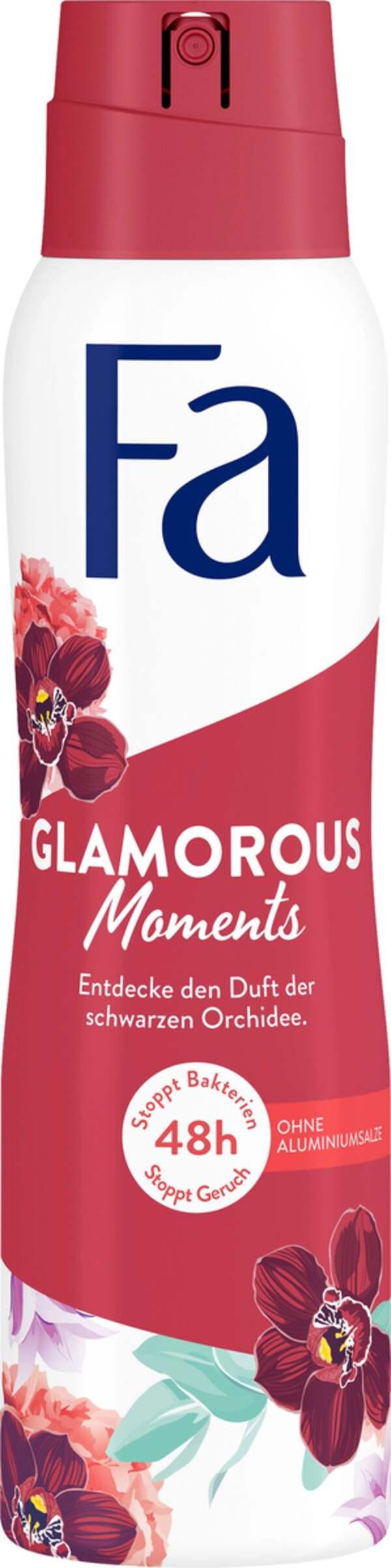 Fa Deodorant Spray Glamorous Moments