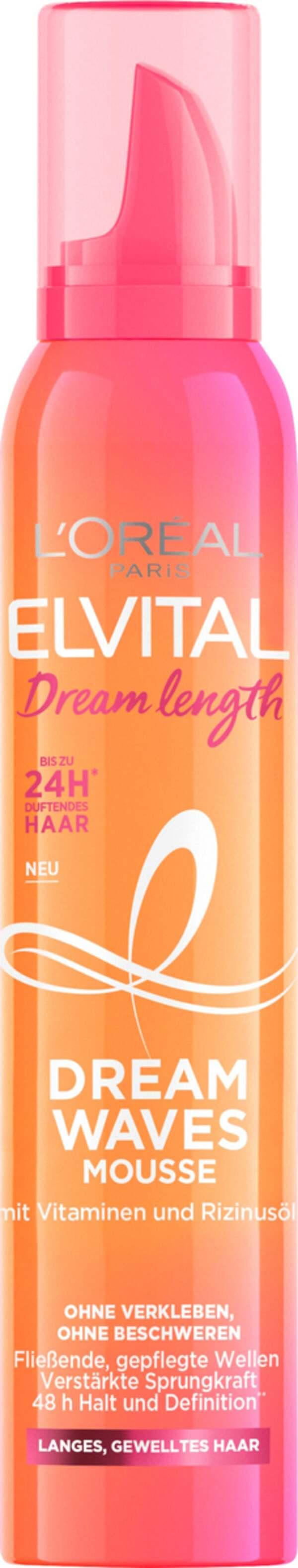L'Oréal Paris Elvital Dream Length Dream Waves Mousse