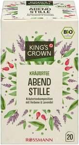 KING'S CROWN Bio Kräutertee Abendstille
