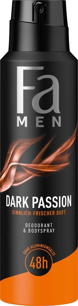 Bild 1 von Fa Men Deodorant & Bodyspray Dark Passion