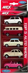 IDEENWELT 5-er Set Welly Modellautos Set 1