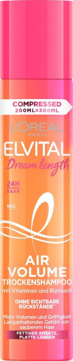 Bild 1 von L'Oréal Paris Elvital Dream Length Air Volume Trockenshampoo