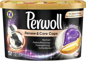 Perwoll Renew & Care Caps Black Spezialwaschmittel 18 WL