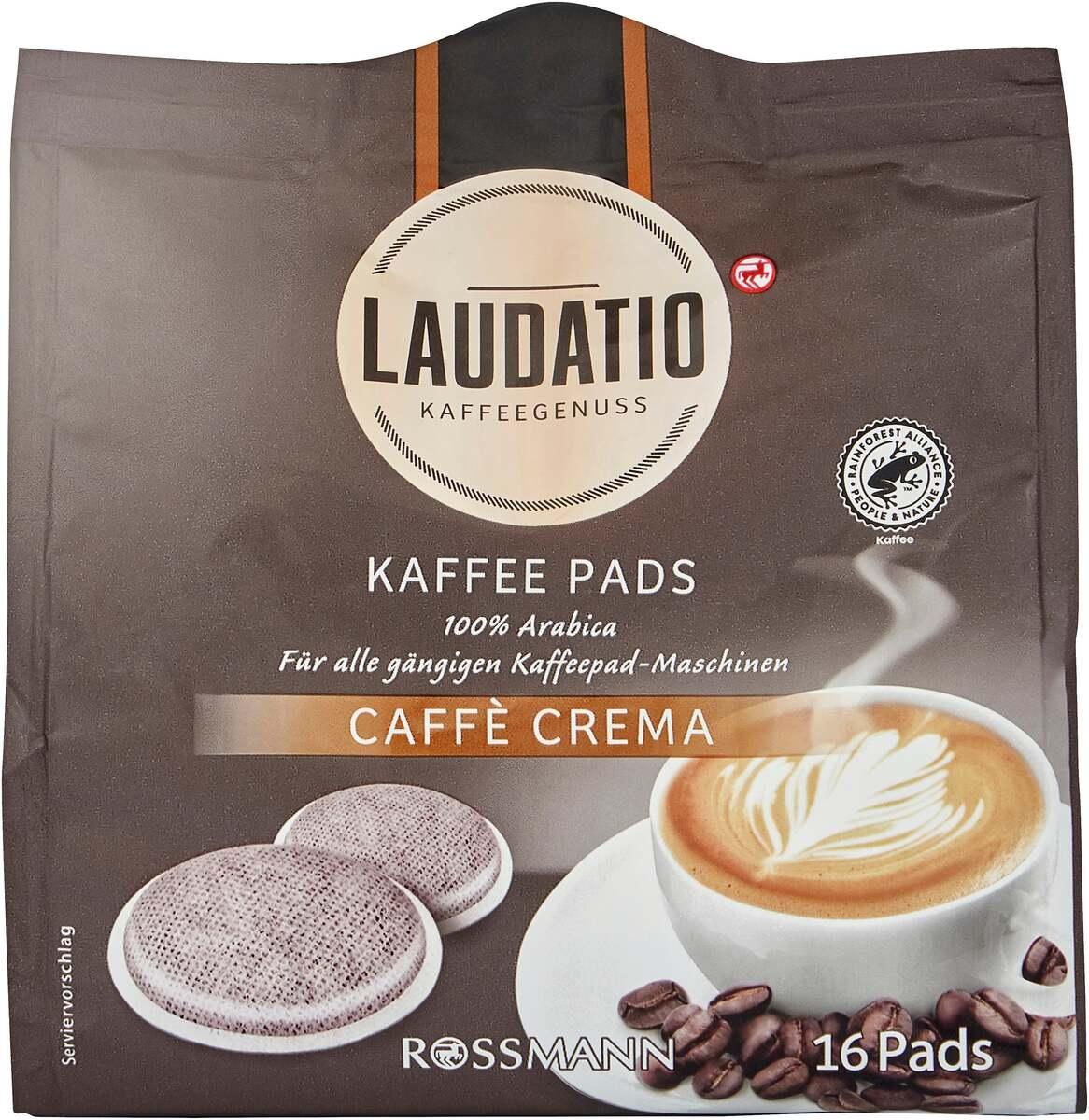 Bild 1 von LAUDATIO KAFFEEGENUSS Kaffee Pads Caffè Crema