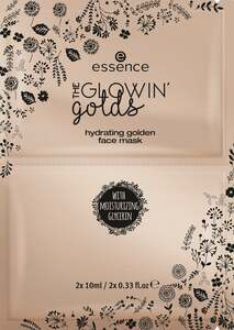 essence The glowin' golds hydrating golden face mask 01 Golden State Of Mind