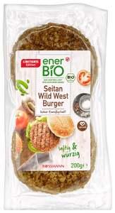 enerBiO Seitan Wild West Burger