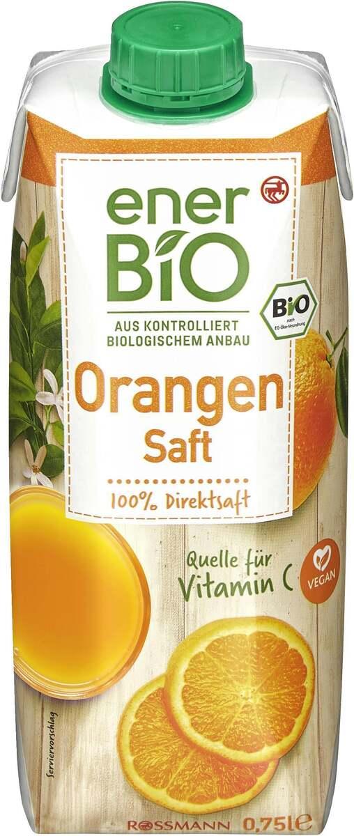 Bild 1 von enerBiO Orangensaft