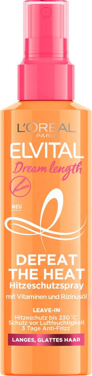 Bild 1 von L'Oréal Paris Elvital Dream Length Defeat Heat Hitzeschutzspray