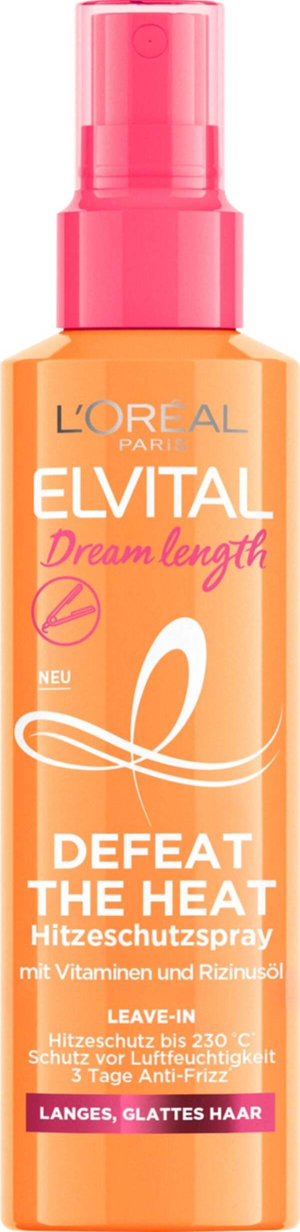 L'Oréal Paris Elvital Dream Length Defeat Heat Hitzeschutzspray