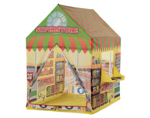 HOMCOM Supermarkt-Spielzelt