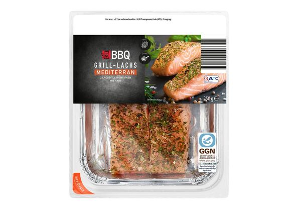 Grill Lachs