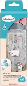 Babydream Kinder-Trinkhalmflasche pink