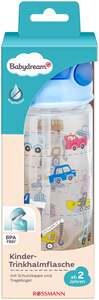 Babydream Kinder-Trinkhalmflasche blau