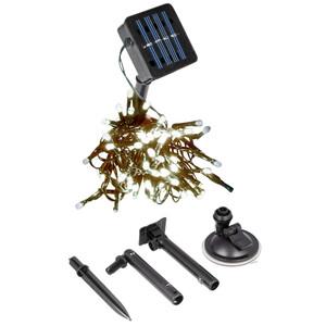 Solar Lichterkette 50/100 LED warmweiß innen/außen