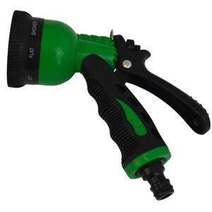 Gartenbrause 8 Sprühfunktionen grün/schwarz Kunststoff