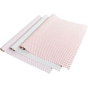 Kraftpapier Geschenkpapier Simply Love 200 x 70cm