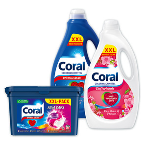 Coral Colorwaschmittel