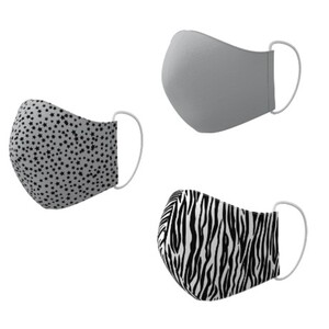 Textile Mund-Nasen-Masken Big Pack, 600 Stück (200x3er-Set)1