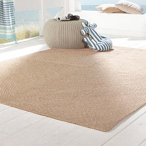In- und Outdoor-Teppich im Jute-Look1
