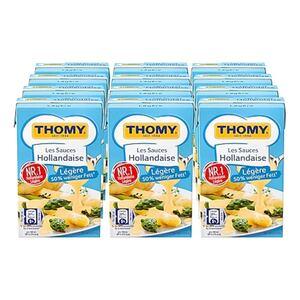 Thomy Les Sauce Hollandaise legere 250 ml, 12er Pack