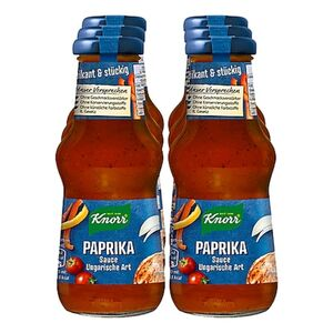 Knorr Paprikasauce ungarische Art 250 ml, 6er Pack