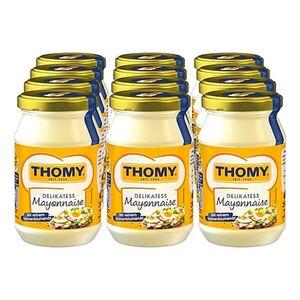 Thomy Delikatess Mayonnaise 250 ml, 12er Pack