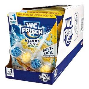 WC Frisch Kraft-Aktiv Duftspüler Lemon 50 g, 10er Pack