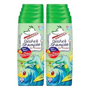 Tabaluga Kinder Dusche & Shampoo grün 300 ml, 8er Pack