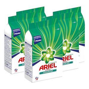 Ariel Vollwaschmittel Pulver 18 Waschladungen, 5er Pack