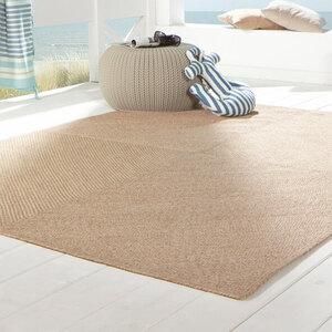 In- und Outdoor-Teppich im Jute-Look, 160 x 230 cm