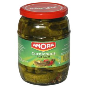Amora Cornichons 370g