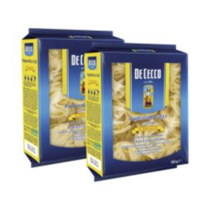 De Cecco Pasta Spezialitäten Tagliatelle oder Pappardelle