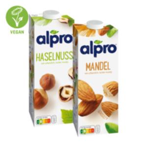 Alpro Mandel-, Kokosnuss-, Cashew-, Haselnuss-Drink