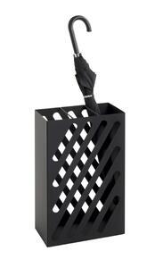 Schirmständer Tessin aus Metall in Schwarz