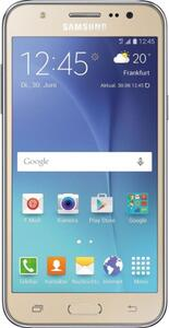 Samsung  J5 SM-J500F 8GB Smartphone gold (ohne SIM-Lock, ohne Branding) - DE Ware