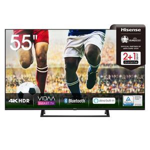 Hisense 4K Ultra HD LED TV 139cm (55 Zoll) 55A7300F Triple Tuner, HDR10+, Smart TV