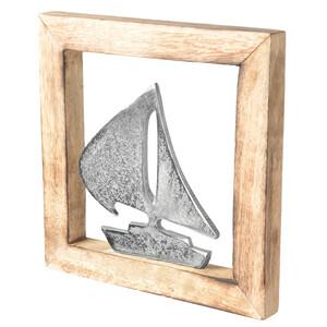 Wandbild mit Segelboot-Motiv