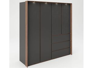 PLAYBOY Kleiderschrank »VICTORIA«, 4 Türen, 2 Schubladen