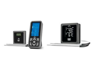 GRILLMEISTER 2 Fühler Grillthermometer »Bluetooth T GTGT 2.4 A1« / »Funk GFGT 433 B1«