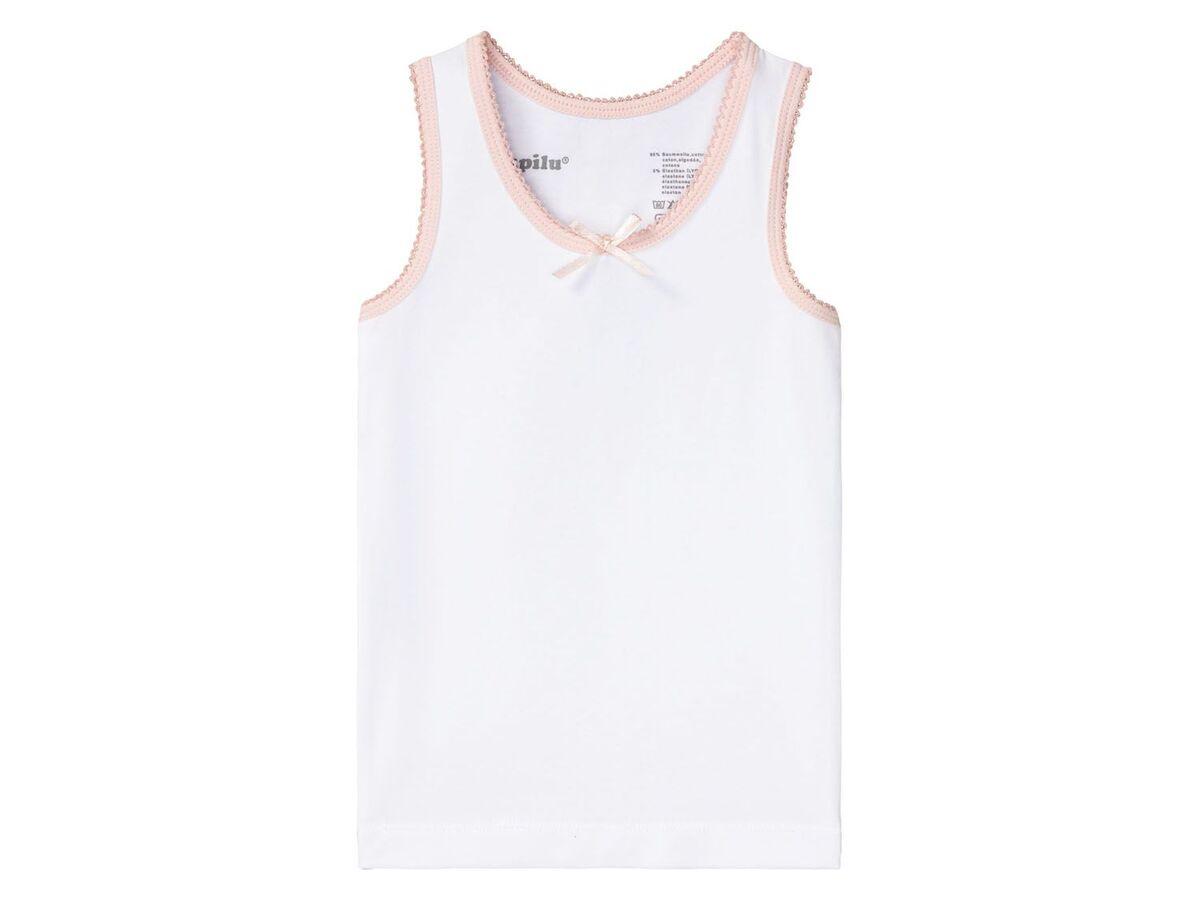Bild 3 von LUPILU® Kleinkinder Unterhemden Mädchen, 3 Stück