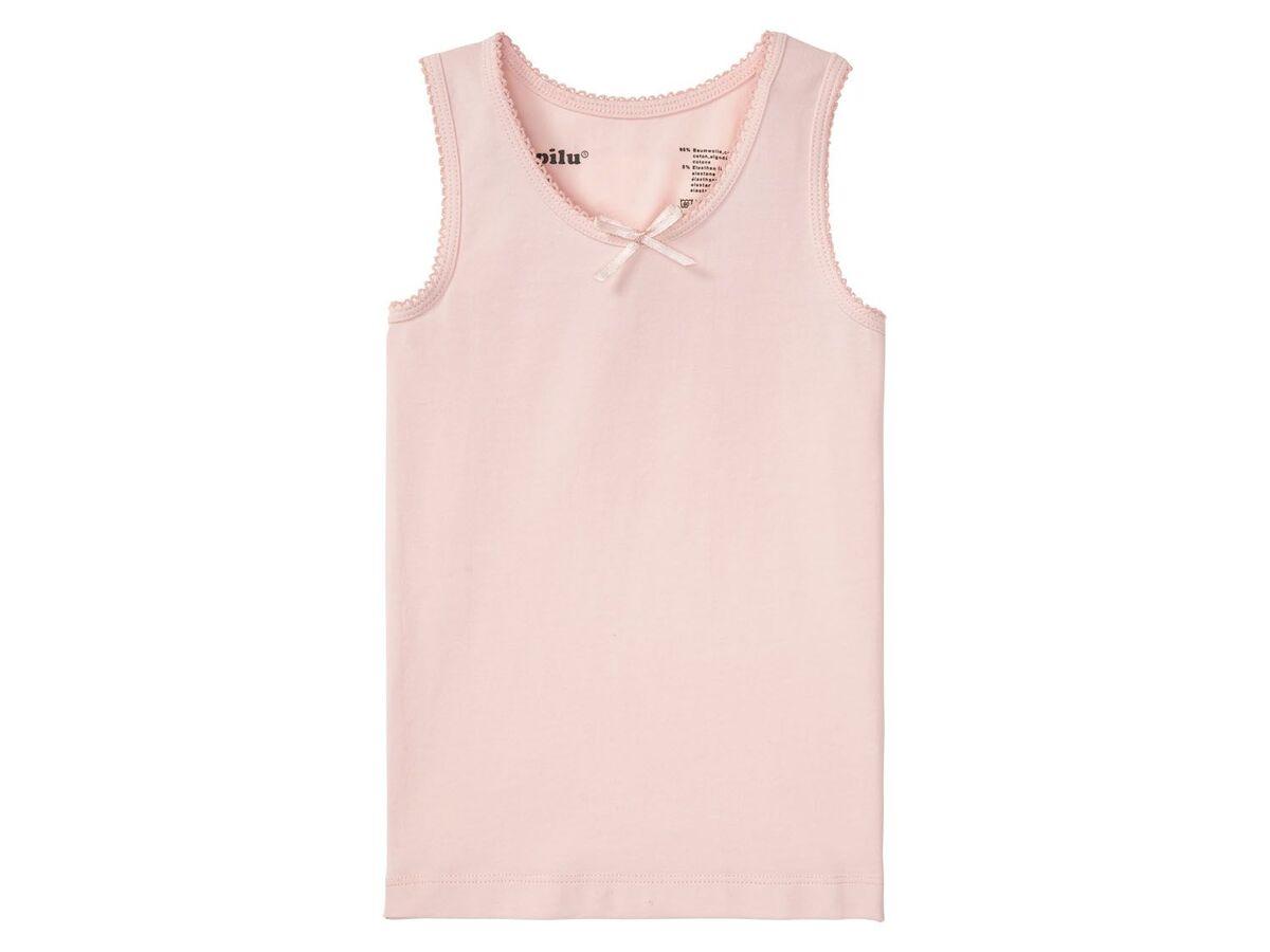 Bild 4 von LUPILU® Kleinkinder Unterhemden Mädchen, 3 Stück