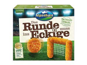 Alpenhain WM-Snack Das Runde muss ins Eckige