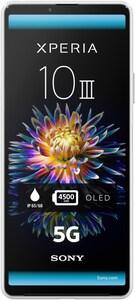 Xperia 10 III 5G Smartphone weiß