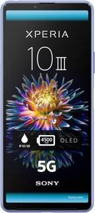 Xperia 10 III 5G Smartphone blau