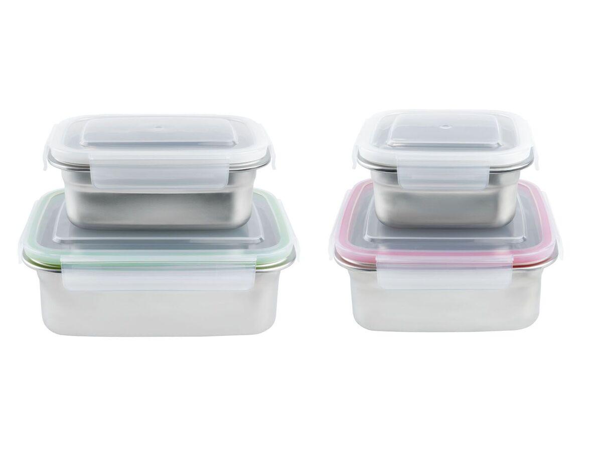 Bild 1 von ERNESTO® Frischhaltedosen, 2 Stück