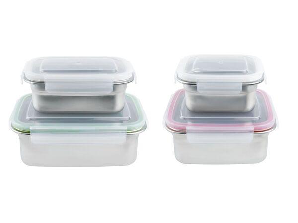 ERNESTO® Frischhaltedosen, 2 Stück