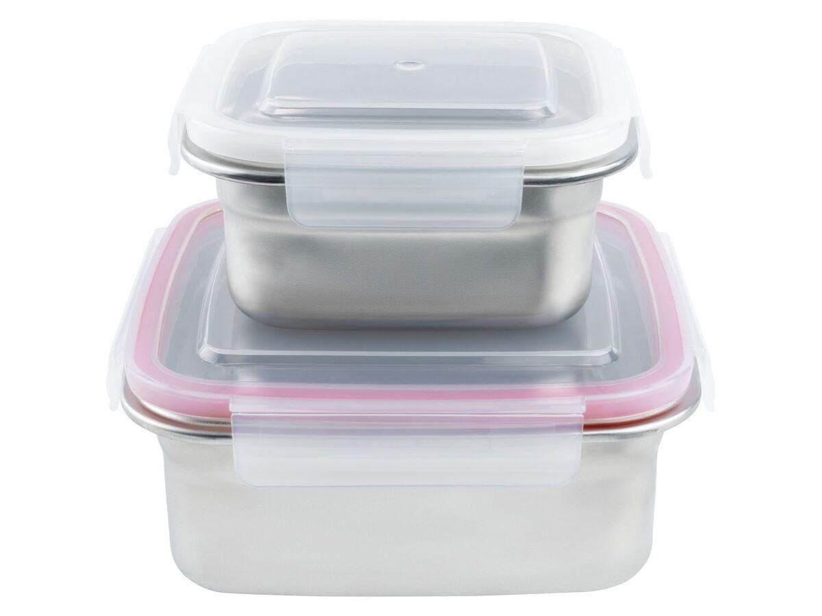 Bild 2 von ERNESTO® Frischhaltedosen, 2 Stück