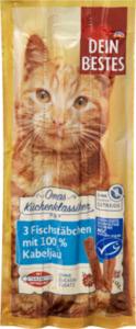 Dein Bestes Omas Küchenklassiker, Snack für Katzen, Fischstäbchen