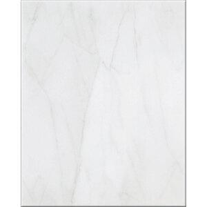 """Wandfliese """"Basis marmoriert"""", grau glänzend"""