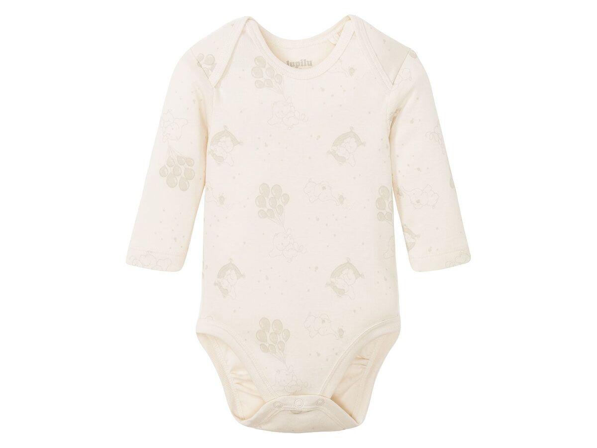 Bild 5 von LUPILU® 5 Baby Bodies, mit Bio-Baumwolle